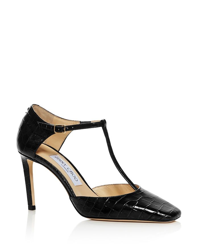 Jimmy Choo Women's Lexica 85 Mary Jane Pumps In Navy