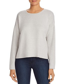 Eileen Fisher Petites - Reversible Boxy Sweater