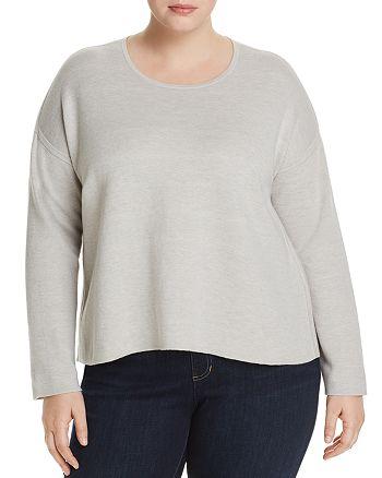 Eileen Fisher Plus - Reversible Boxy Sweater