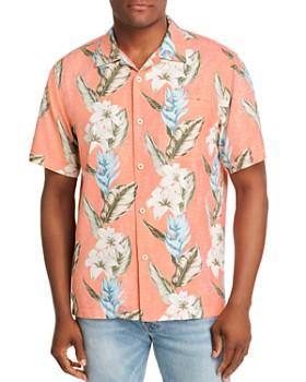 Tommy Bahama - Palmdale Vines Short-Sleeve Flora-Print Classic Fit Shirt