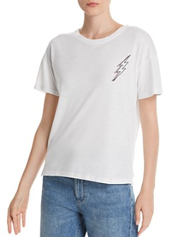 Rails - Davie Embroidered Lightning Tee