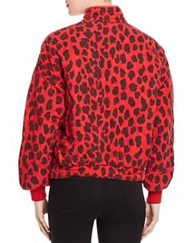 BLANKNYC - Quilted Cheetah-Print Jacket