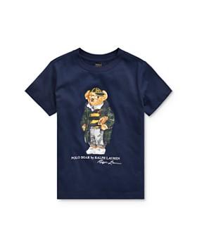 Ralph Lauren - Boys' Collegiate Bear Tee - Little Kid