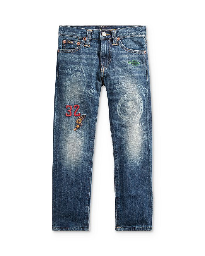 Ralph Lauren - Boys' Sullivan Slim-Fit Graphic Jeans - Little Kid
