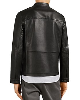 Ted Baker - Cargo Leather Jacket