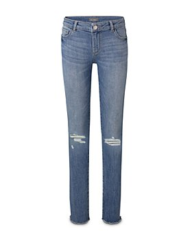 DL1961 - Girls' Chloe Ripped Skinny Jeans - Little Kid
