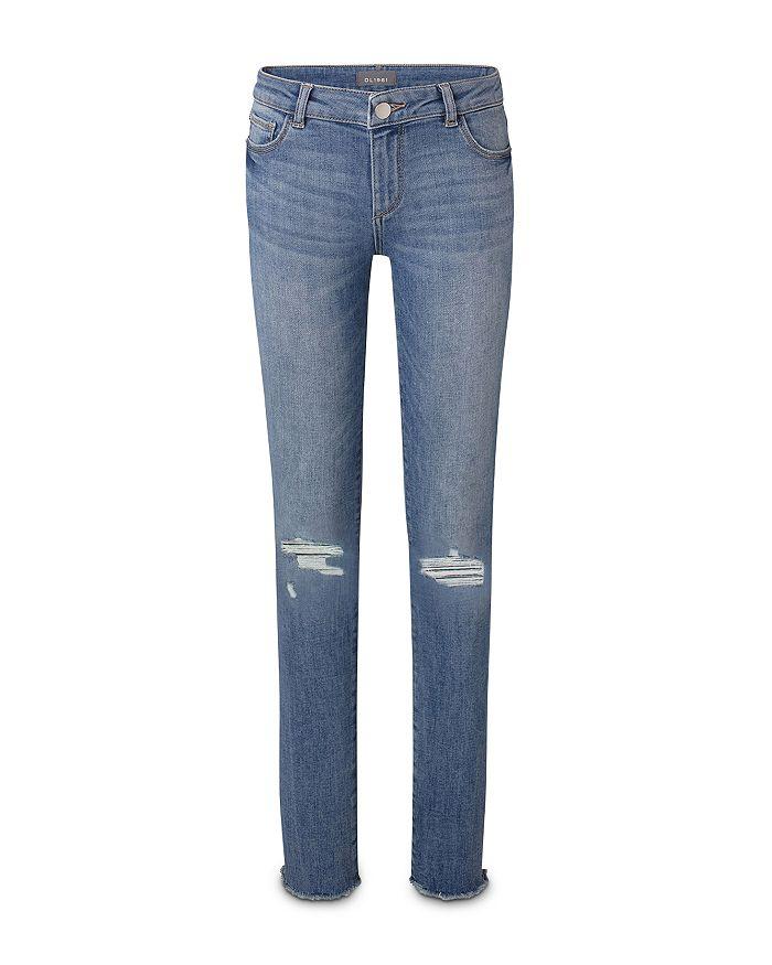 DL1961 - Girls' Chloe Ripped Skinny Jeans - Big Kid