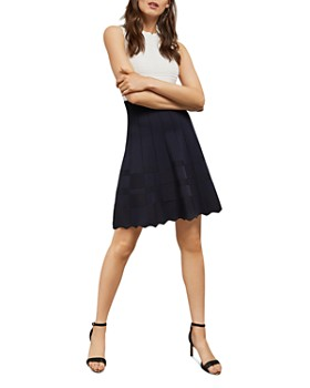 2fb9fe9605 Ted Baker - Polino Color-Blocked Knit Dress ...