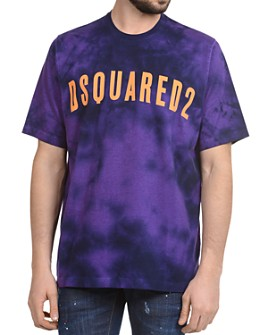DSQUARED2 - Logo Graphic Tie-Dyed Tee