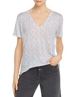 Rails - Cara Spot Print Tee - 100% Exclusive