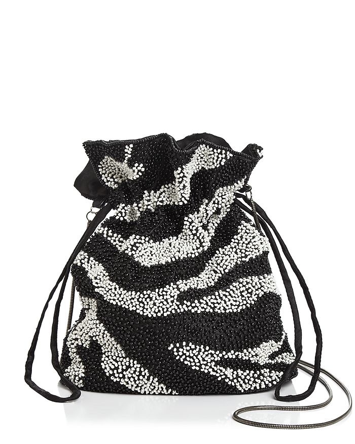 AQUA - Tilly Zebra Beaded Pouch - 100% Exclusive