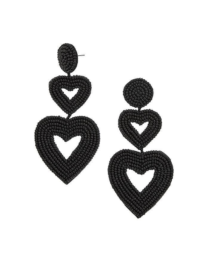 BAUBLEBAR - Vierra Heart Drop Earrings