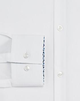 HUGO - Contrast Print Slim Fit Dress Shirt