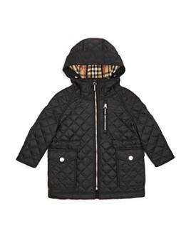Burberry - Boys' Trey Quilted Hooded Jacket - Little Kid, Big Kid