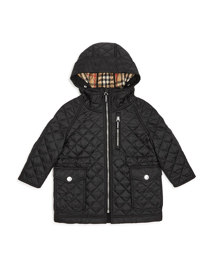 Burberry - Boys' Trey Quilted Hooded Jacket - Little Kid, Big Kid