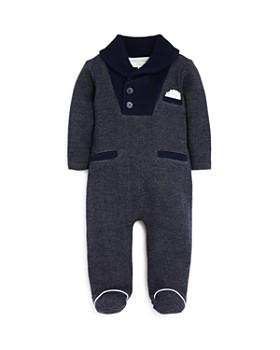 Miniclasix - Boys' Shawl-Collar Coverall - Baby