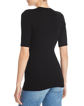 Enza Costa - Ribbed-Knit Tee
