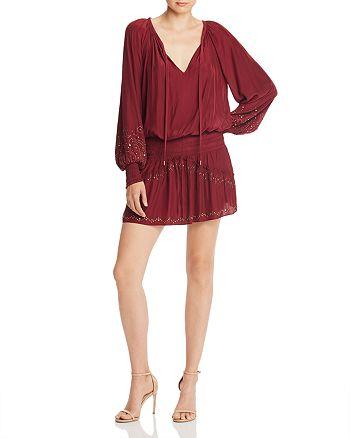 Ramy Brook - Cynthia Studded Blouson Dress