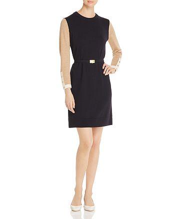 Tory Burch - Kendra Color-Block Knit Dress