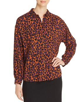 MKT Studio - Chigala Noisette Leopard-Print Shirt