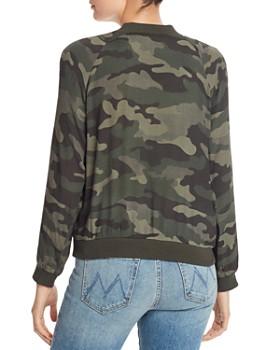 BB DAKOTA - Can't See Me Camo Bomber Jacket
