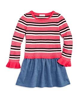 Design History - Girls' Striped Chambray Dress - Little Kid