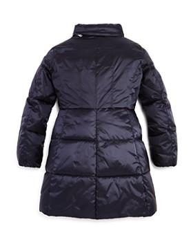 Armani - Girls' Zip-Up Puffer Jacket - Little Kid, Big Kid