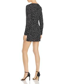 LIKELY - Corinne Ruffled Polka Dot Mini Dress