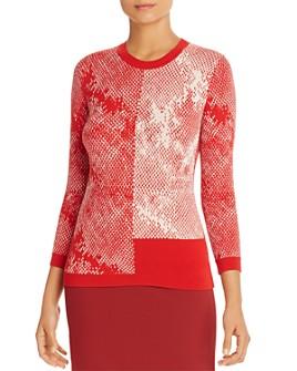 BOSS - Fillian Patterned Knit Sweater