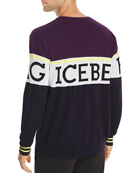 Iceberg - Logo Striped Sweater