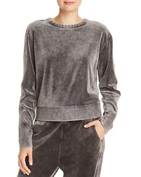 rag & bone - Washed Velour Sweatshirt