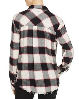 Rails - Leo Frayed Plaid Shirt