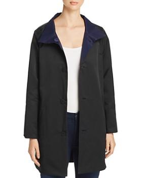 Eileen Fisher - Reversible Mid-Length Jacket