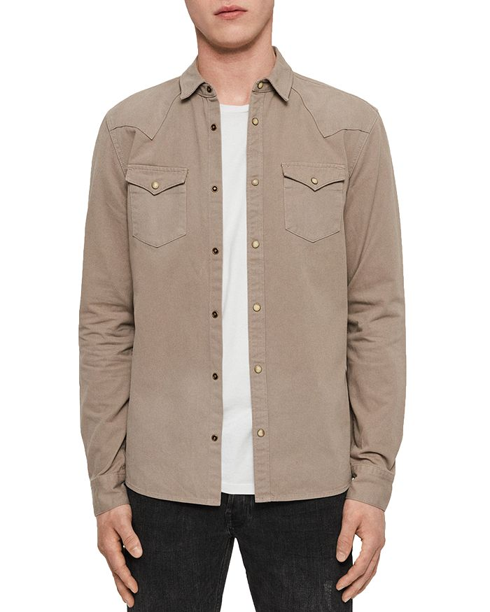 ALLSAINTS - Ceres Western Regular Fit Shirt