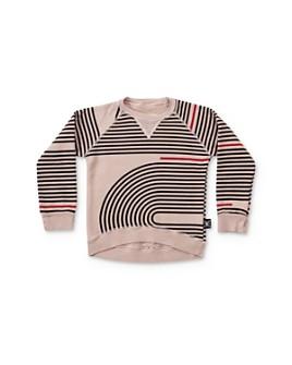 NUNUNU - Girls' Spiral Print Sweatshirt - Baby