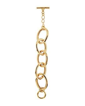 Oscar de la Renta - Linked Chain Toggle Bracelet
