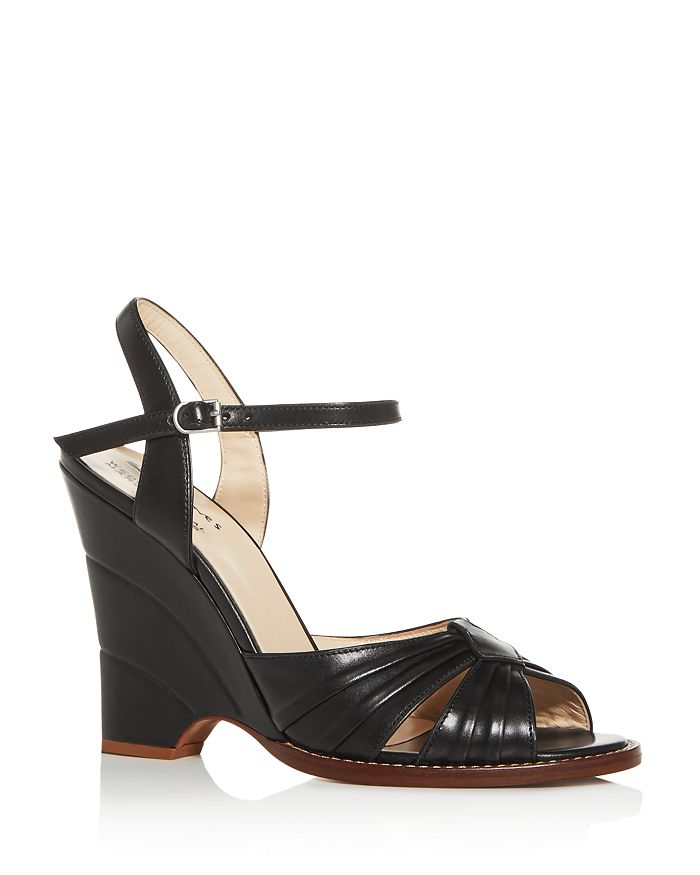 MARC JACOBS - Women's Sofia Loves The Wedge Open-Toe Sandals