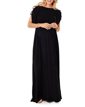 Ingrid & Isabel - Maternity Smocked Empire Maxi Dress
