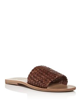 St. Agni - Women's Dori Woven Slide Sandals