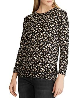 Ralph Lauren - Floral-Print Sweater