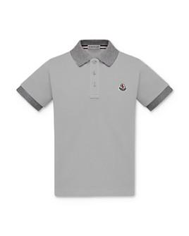 Moncler - Boys' Two-Tone Polo Shirt - Big Kid