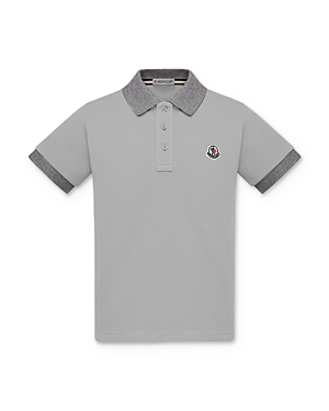 Moncler Boys\\\' Two-Tone Polo Shirt - Little Kid