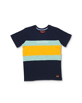 7 For All Mankind - Boys' Striped Tee - Big Kid
