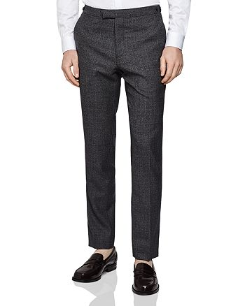 REISS - Move Mouline Slim Fit Trousers