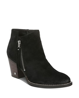 Sam Edelman - Women's Macon Block Heel Ankle Booties