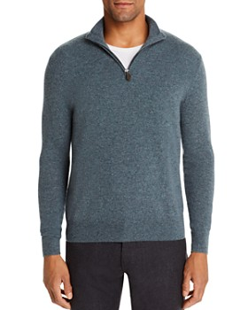 The Men's Store at Bloomingdale's - Cashmere Half-Zip Sweater - 100% Exclusive