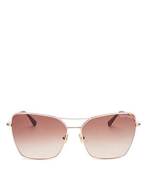 Tom Ford Women\\\'s Sye Brow Bar Square Sunglasses, 61mm-Jewelry & Accessories