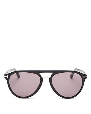 Tom Ford Men\\\'s Burton Brow Bar Aviator Sunglasses, 56mm-Jewelry & Accessories