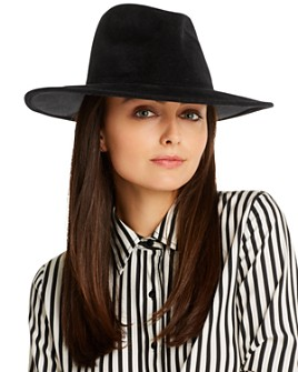 Bloomingdale's - Felt Fedora - 100% Exclusive