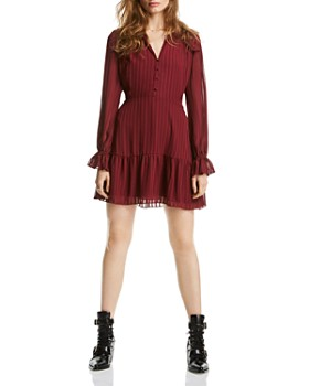 LINI - Lucy Striped Flounced Dress - 100% Exclusive